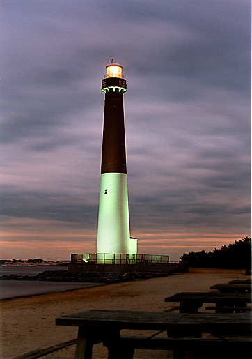 Barneget Light NJ Lighthouse