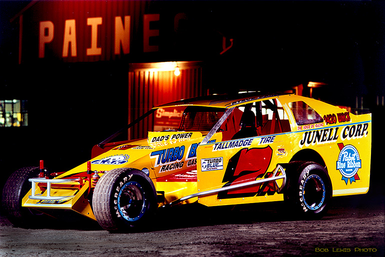 Steve Paine DIRT modified 7x